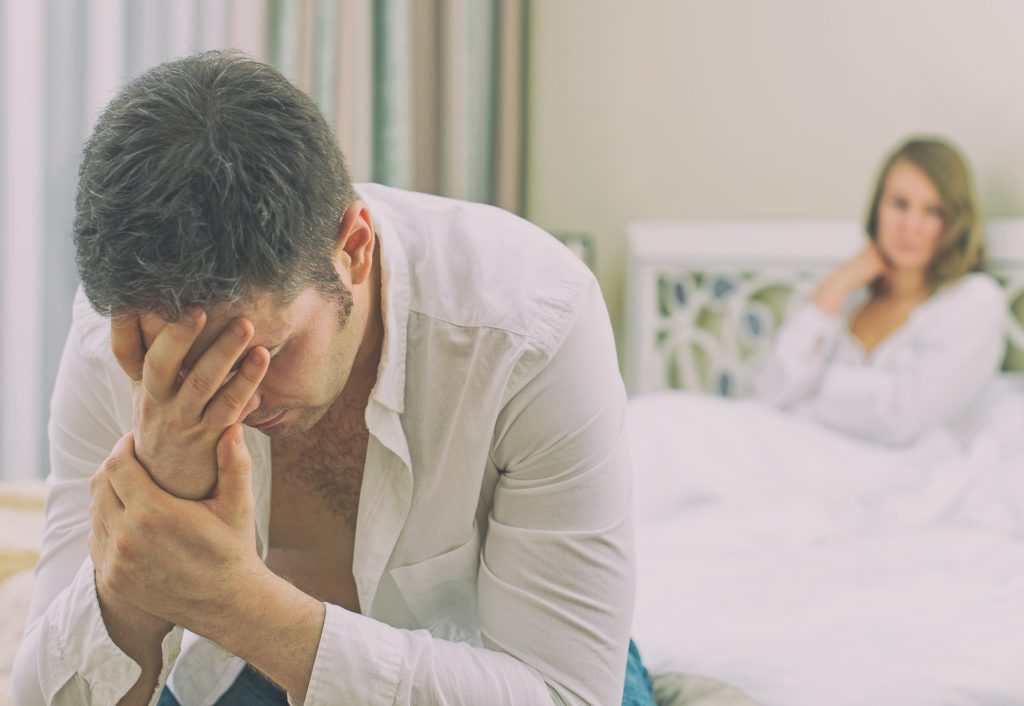 Urologic conditions lead to depression, sleep issues in men -
