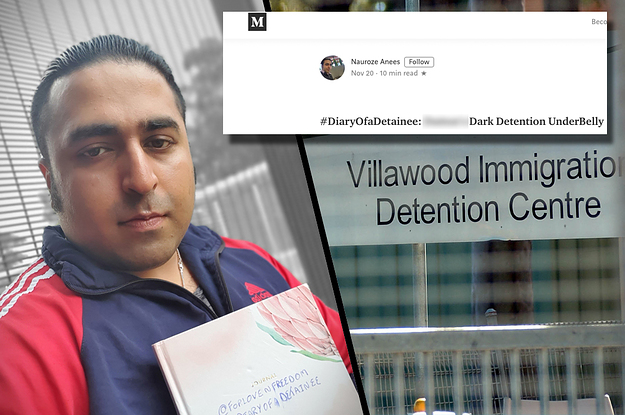 Villawood Detainee's Medium Blog Shut Down