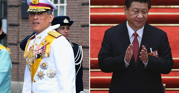 "British GQ Removed China's President And Thailand's King From Its ""Worst Dressed"" List"